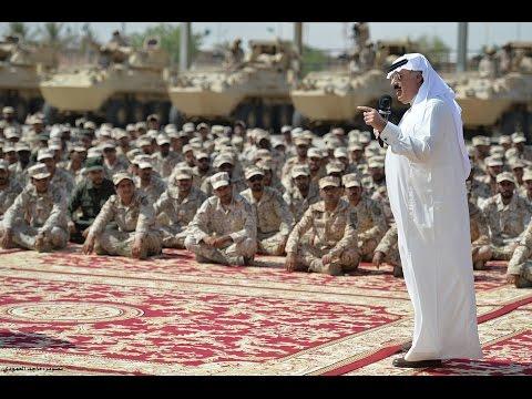 سمو الأمير متعب بن عبدالله يتفقد لواء الأمير تركي بن عبدالعزيز الأول الآلي قبل التوجه للحد الجنوبي