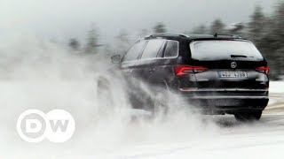 The Skoda Kodiaq vs. winter weather | DW English - DEUTSCHEWELLEENGLISH