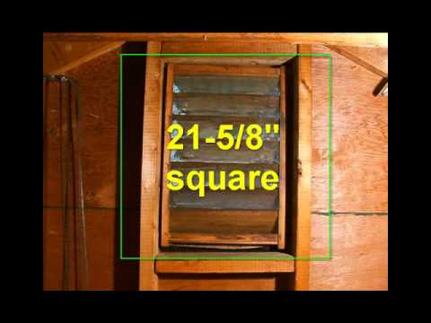 Solar Attic Fan Installation - AltE Video Tip