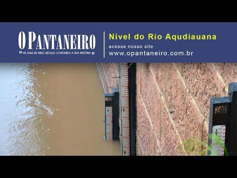 NÍVEL DO RIO AQUIDAUANA