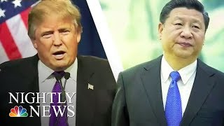 U.S. Relations With China Grow Tepid Amid North Korea Crisis | NBC Nightly News - NBCNEWS
