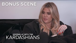 KUWTK | Khloé Kardashian Decides What to Do With Her Dog's Ashes | E! - EENTERTAINMENT