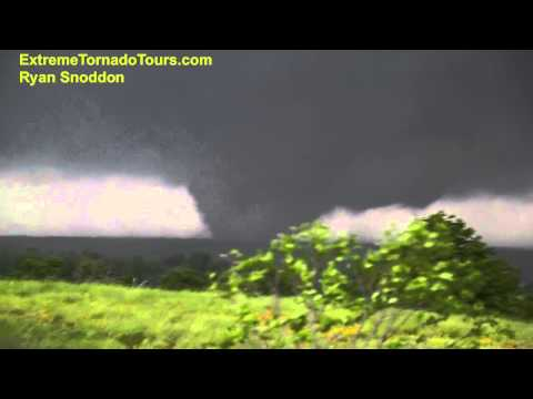 MASSIVE video of wedge tornado heading toward Wellston, OK on May 19, 2013