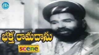 Bhakta Ramadasu Movie Scenes - Ramadasu Collect Funds From Villagers For Temple || Chitto V. Nagaiah - IDREAMMOVIES