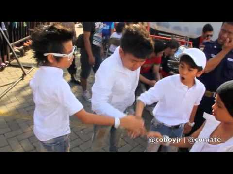 Coboy Junior Inbox 5 Februari 2012 - Behind The Stage