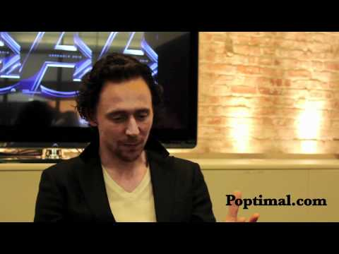 Avengers Interview - Tom Hiddleston Part 2