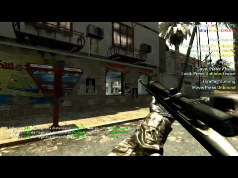 CoD4 Promod Tutorial - Strike (Nades & Wallbangs) (PC)