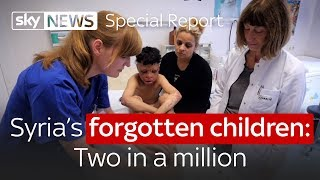 Syria's forgotten children: Two in a million - SKYNEWS