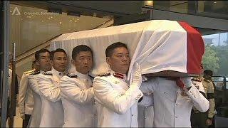 تشييع جنازة الأب الروحي لسنغافورة «لي كوان يو»