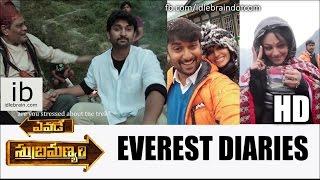 Yevade Subramanyam Everest Diaries video - idlebrain.com - IDLEBRAINLIVE