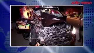 video : ट्रैक्टर ट्रॉली, कैंटर और कार की टक्कर में एक व्यक्ति की मौत, एक घायल