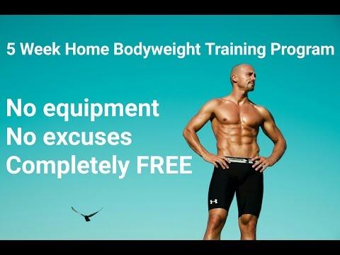 Kućni trening program od 5 tjedana