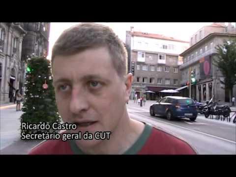Manifestaçom em Vigo pola greve geral (29-06-2010)