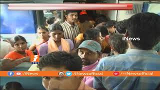 South Central Railway Provide Special Train For Dasara Festival | iNews - INEWS