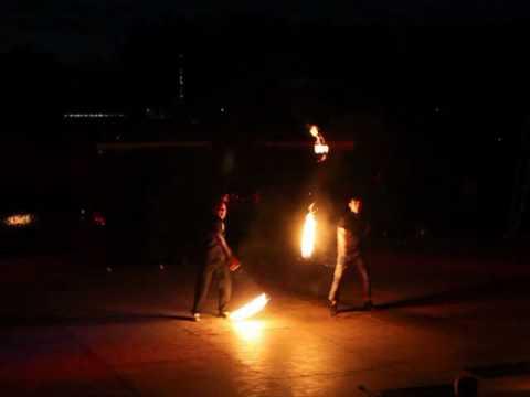 Thomas & Yuta @ EJC2010 Fire Gala