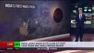 Astronomic Price? India first Mars probe costs 'less than Hollywood film' - RUSSIATODAY