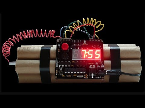 Detonator clock