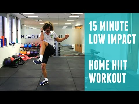16 Minute Low Impact Fat Burning HIIT Workout | The Body Coach
