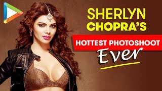 HOT: Sizzling Beauty Sherlyn Chopra is Raising the Temperature with her Hot Moves in this Photoshoot - HUNGAMA