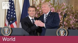 Macron targets Trump in speech to Congress - FINANCIALTIMESVIDEOS