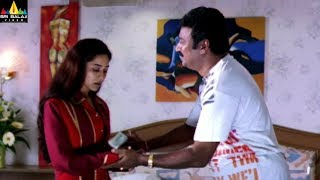 Evadi Gola Vaadidi Movie Scenes | Krishna Bagawan with Housekeeping Girl | Sri Balaji Video - SRIBALAJIMOVIES