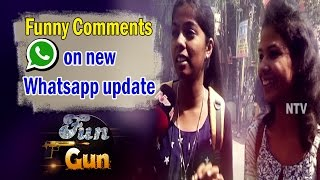 Youth Response On Whatsapp Updated Version    NTV Fun Gun - NTVTELUGUHD