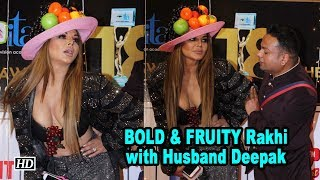 Rakhi Sawant BOLD & FRUITY with Husband Deepak Kalal - IANSLIVE