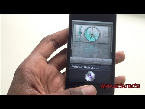 How To Get 100% Official Working Siri On The iPhone 4,iPhone 3GS, iPod Touch 4G Using WordJelly Siri