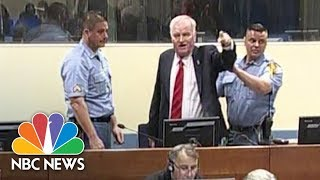 Frmr. Bosnian Serb General Ratko Mladic Has Angry Outburst Before War Crimes Conviction | NBC News - NBCNEWS