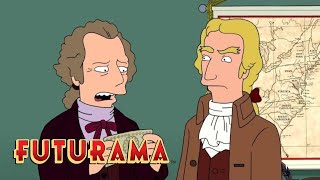 FUTURAMA | Season 8, Episode 7: Continental Congress Crashers | SYFY - SYFY
