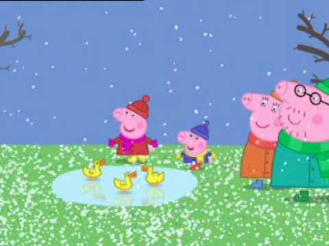 Świnka Peppa - Mroźny zimowy dzień