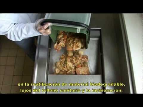 IMC Maquinas de composta y reciclaje de residuos alimenticios (Spanish version)