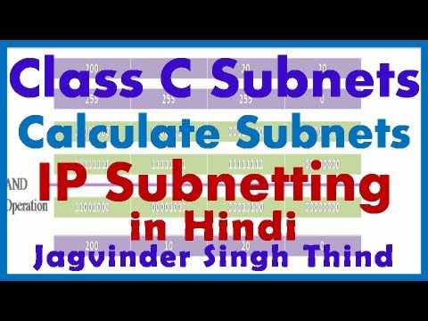 IP Addressing Part 17 Subnetting - Finding Subnets in Hindi by JagvinderThind