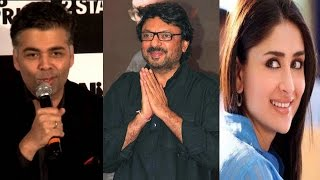 Kareena Kapoor and Karan Johar make a dig at Sanjay Leela Bhansali! - Scoop of the day!