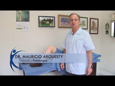 Proloterapia para lesiones de rodilla. Dr. Mauricio Arouesty