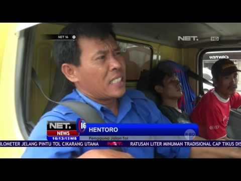 Libur Panjang, Lalu Lintas di Tol Cikampek Meningkat NET16