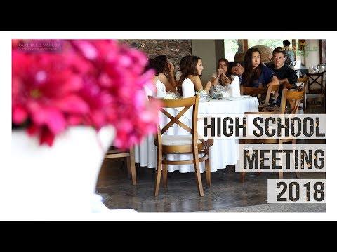 High School Meeting 2018