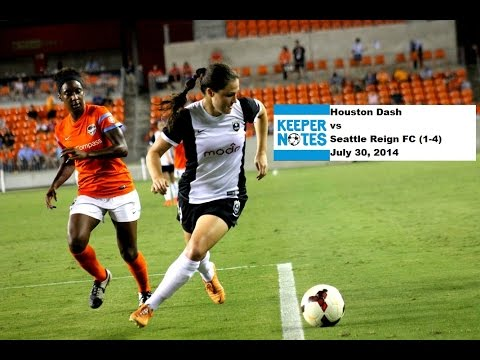 Post Game Interviews - Houston Dash vs Seattle Reign - 7/30/2014