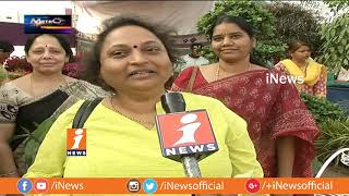 Horticulture Expo With Plants At necklace Road In Hyderabad | Metro Colors | iNews - INEWS