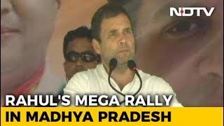 "In Chhattisgarh, Rahul Gandhi Calls Notes Ban Biggest ""Scam"" - NDTV"
