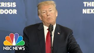 Donald Trump Calls For Cautionary Commercials As Part Of Plan To Tackle Opioid Crisis | NBC News - NBCNEWS