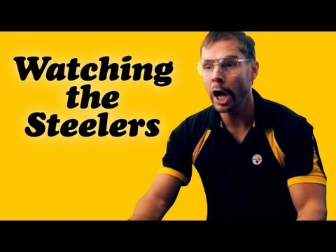 Pittsburgh Dad: Watching The Steelers