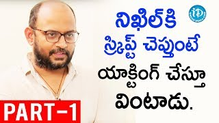 Director Vi Anand Exclusive Interview Part #1 || Talking Movies With iDream - IDREAMMOVIES