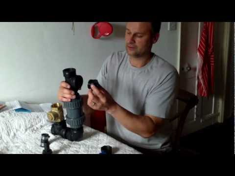 Construction of a 1 1/2 Hydraulic Ram Pump out of Plastic fittings