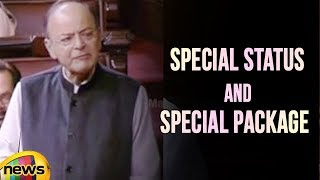 Arun Jaitley Explanation About the Special Status and Special Package In Rajya Sabha | Mango News - MANGONEWS