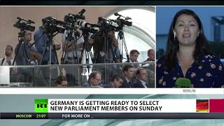 LIVE: Final countdown to German federal elections (RT's special coverage) - RUSSIATODAY