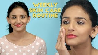 Must Do Weekly Skin Care Routine | Beauty Tips for Glowing Skin - ZOOMDEKHO