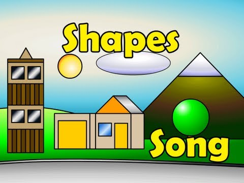 The Shapes Song - Kids English Song