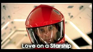Royalty Free Love on a Starship:Love on a Starship