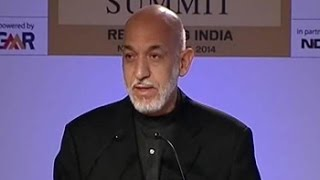 """Obama was silent on Pak terror havens,"" says Hamid Karzai - NDTV"